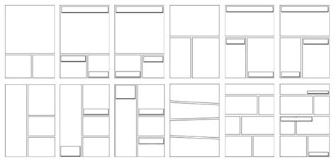 comic book layout maker our blank comic book templates feature 30 page layouts and