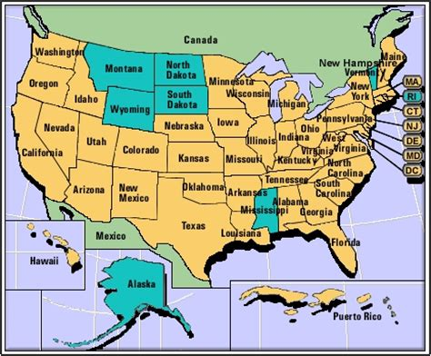 map of usa with states marked i m looking for a simple map of the united states of
