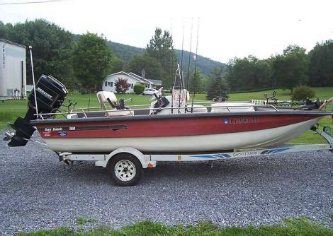 fishing boat for sale pa 1990 bayhawk 180 fishing boat for sale in east freedom pa