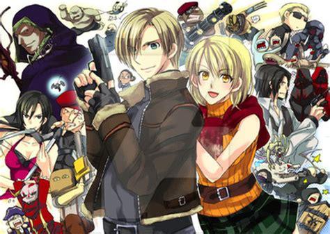 resident evil 4 anime by n4ufal on deviantart