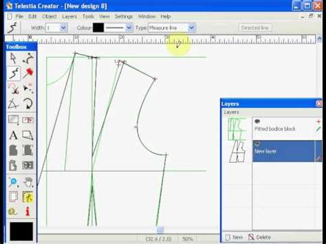sewing pattern making software free cad pattern design software youtube