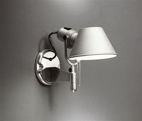 artemide tolomeo wall l tolomeo faretto wall light aluminium by artemide
