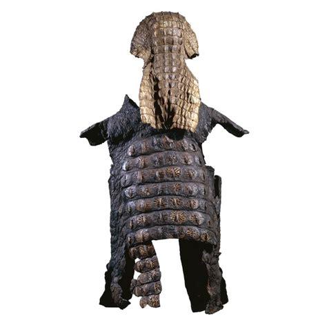 Crocodile Armour the oddment emporium crocodile skin suit of armour in