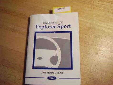 car repair manual download 2001 ford explorer sport trac security system 2001 ford explorer sport owners manual software automotive parts