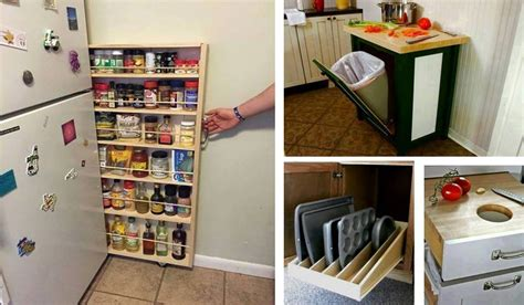 Storage Space Saving Ideas إبتكارات ديكور Decor Lead Wonderful Space Saving Kitchen