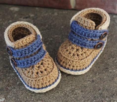 boys boot slippers crochet baby boy booties pattern www pixshark
