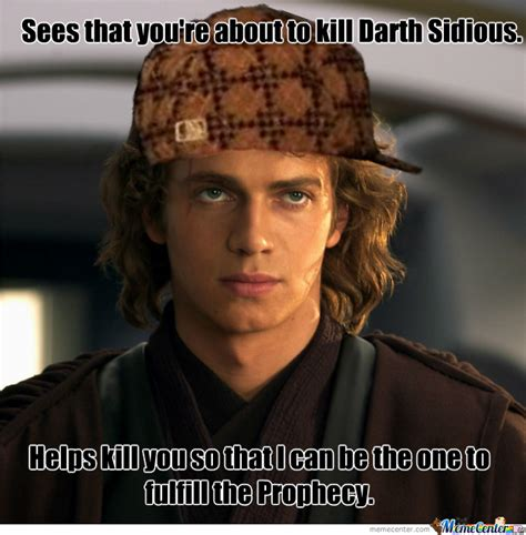 Anakin Skywalker Meme - scumbag anakin by blake gordon 3158 meme center