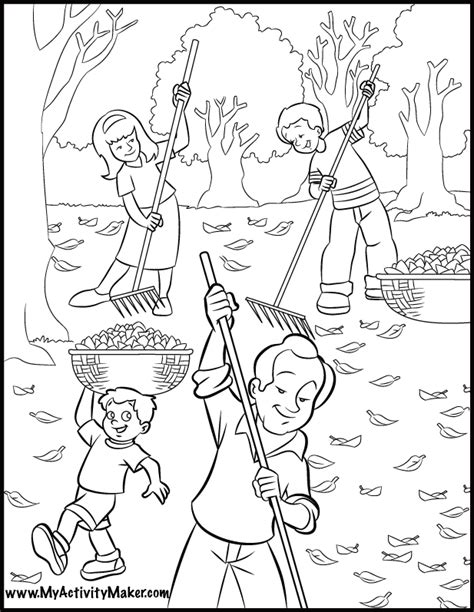coloring pages seasons coloring home