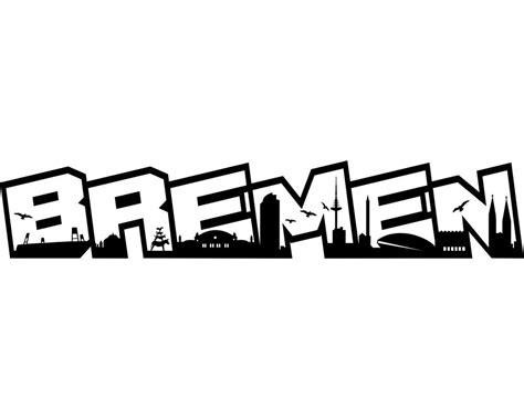 Schriftzug Aufkleber Auto by Aufkleber Bremen Schriftzug Skyline Autoaufkleber Kaufen