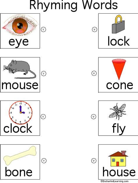 words that rhyme with color file folder words that rhyme page 2 color