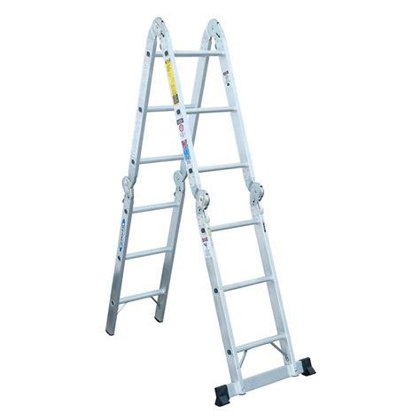 werner aluminum articulating multi ladder grade 1a 300