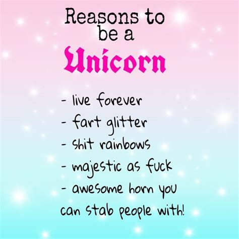 Reasons I Being A by 174 Best Images About Unicorn Magic On