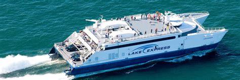 ferry boat lake michigan lake express lake michigan s high speed ferry lake