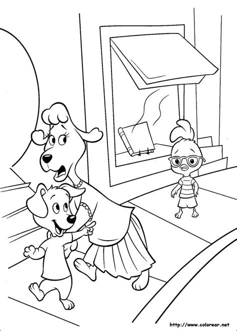 dibujos para colorear zootopia dibujos para colorear de chicken little
