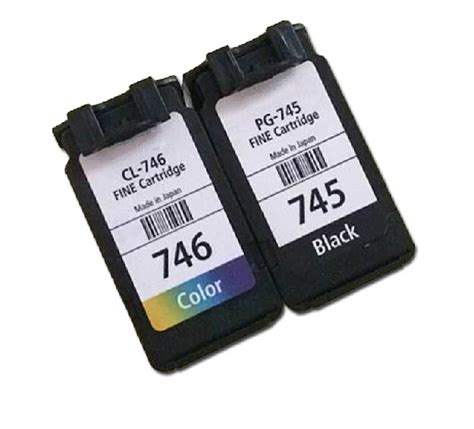 Combo Canon Pg 745 Cl 746 free shipping for canon pg 745 pg 746 cl 746 for canon