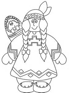 How To Draw First Nations Nations Coloring Pages
