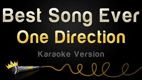 song karaoke one direction best song karaoke version