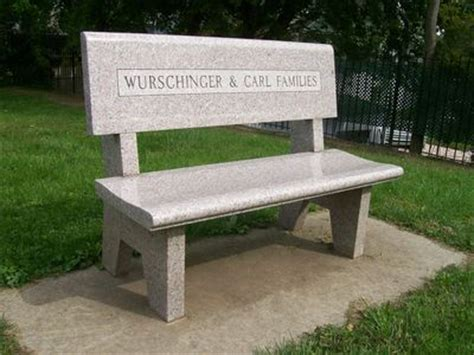 engraved park benches click to view full size image