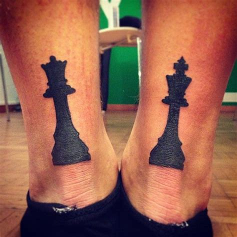 king queen tattoo 25 best ideas about chess on