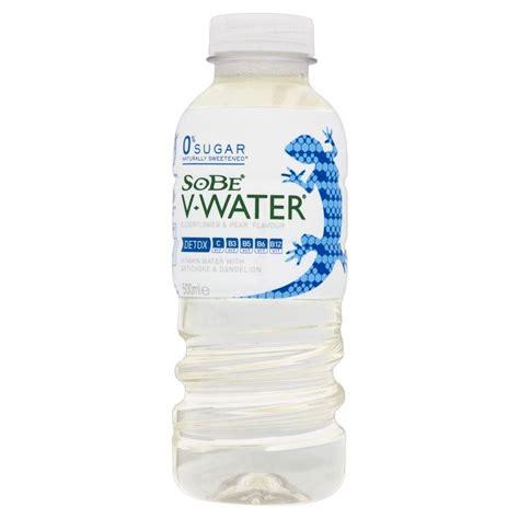 Detox Water For Sale by Sobe V Water Detox Elderflower Pear 500ml