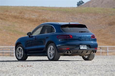 Macan S Porsche by 2015 Porsche Macan S Macan Turbo Test Motor Trend