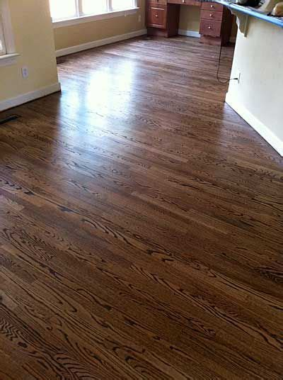 Red Oak With DuraSeal Provincial Stain   ONE OPTION. the