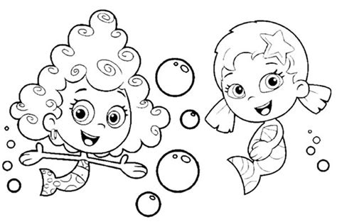 funny deema and nonny from bubble guppies coloring page bubble guppies deema coloring page www pixshark com