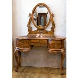 Wood Vanity 5 Drawers Wooden Vanity Antique Vanities Mahogany