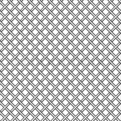 black and white mesh pattern design with metallic realistic mesh abstract seamless