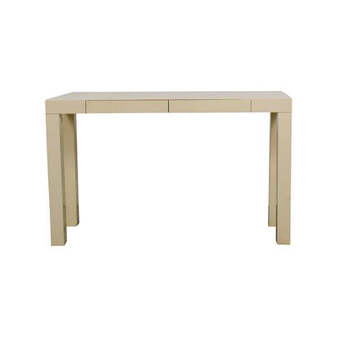 west elm console table 77 off ikea ikea alex white desk tables