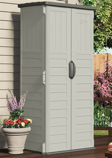 Vertical Garden Shed Suncast Bms1250 Vertical Storage Shed 2 Ft 1 1 2 In L X 2