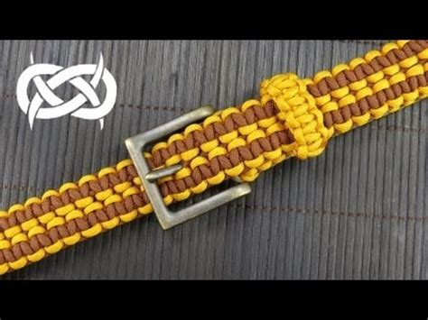 how to make the wide paracord zipper sinnet br