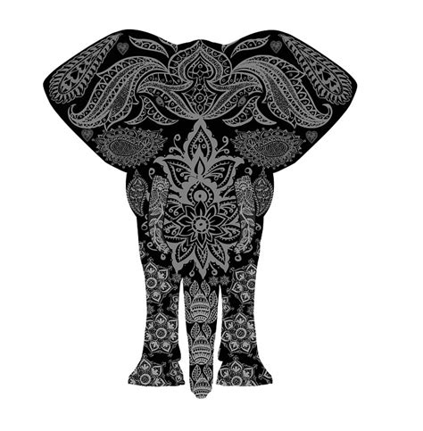 kostenlose illustration elefant muster afrika