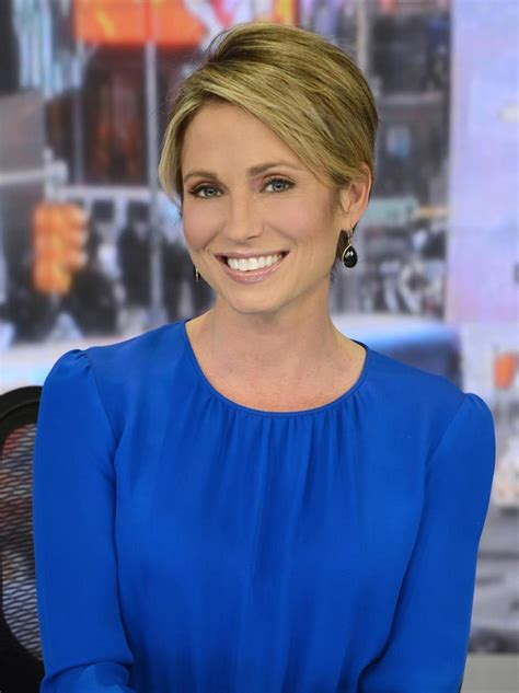 amy robach short hairstyle pic gma co host amy robach completes chemotherapy ny daily