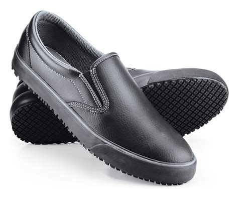 ollie black s non skid mens work shoes slip