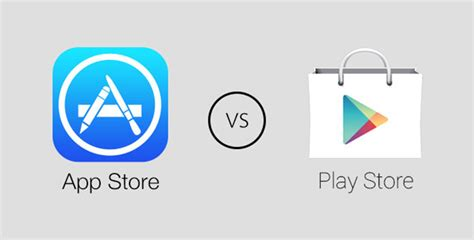 play store vs apple app store match au sommet