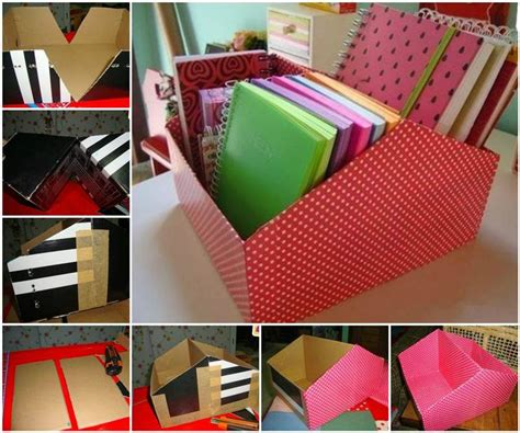 diy from shoe boxes diy easy shoe box organizer home diy