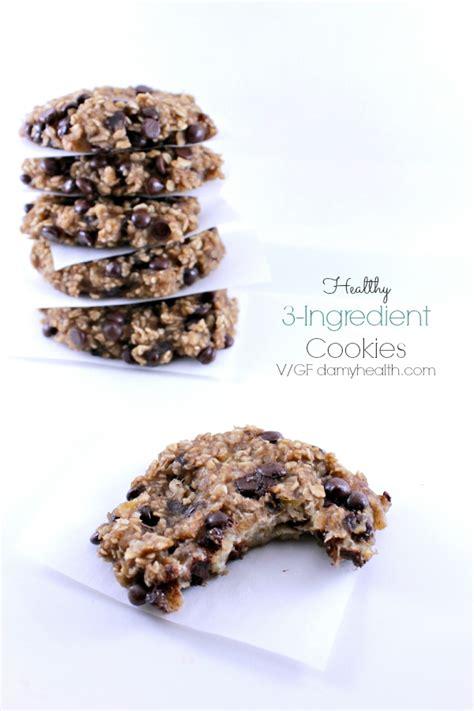 3 Ingredient Detox Cookies by Healthy 3 Ingredient Cookies