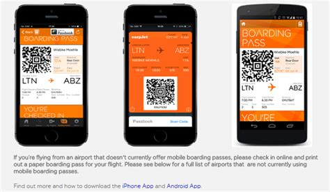 easyjet mobile boarding pass the best of european budget airlines a wanderlust