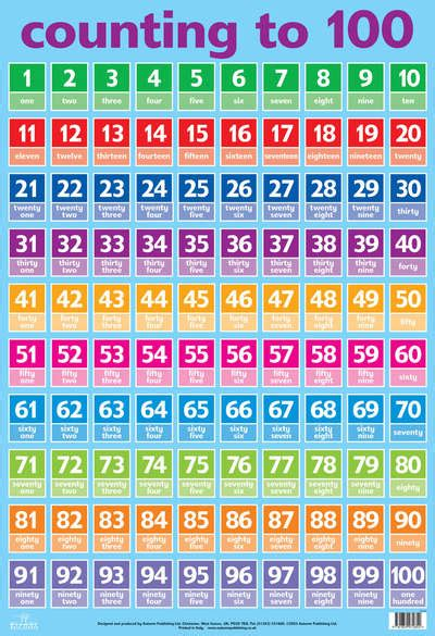 Indonesian Numbers 1 100 Printable | numbers 1 100 by autumn publishing ltd 9781859972854