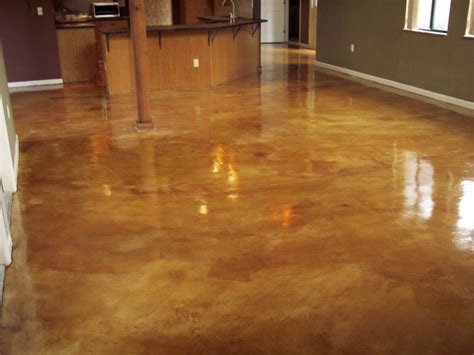 Concrete Stained Floors by Rbm Enterprises Acid Staining