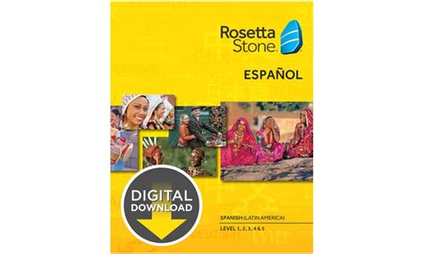 rosetta stone groupon rosetta stone digital download level 1 5 language courses