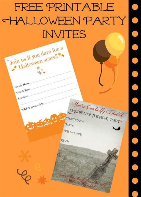 printable halloween invitations free free printable halloween invitations for your super