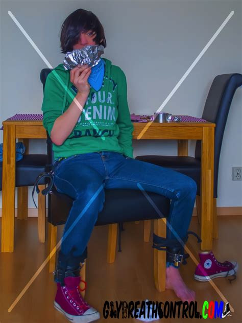 Duct Taped To Chair by Bound To Chair Sniffing And Breath W Duct