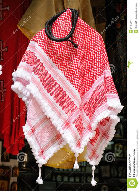 arab keffiyeh pattern keffiyeh stock photo image of handicraft fabric