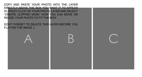 templates for photoshop 8 free photoshop storyboard collage templates from