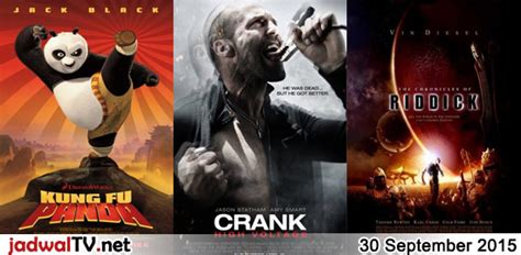 film rekomendasi september 2015 jadwal film dan sepakbola 30 september 2015 jadwal tv