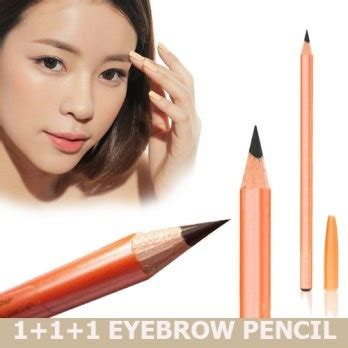 buy get 3 pensil alis vv best selling eyebrow pencil black and brown for your and