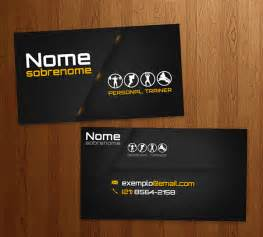 personal trainer business card business card personal trainer on behance