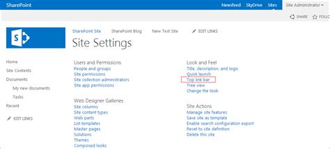 sharepoint 2013 top link bar how to change the order of the items in the top link bar